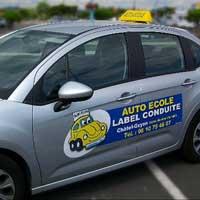 Auto ecole à Châtelguyon (63140) : label-conduite