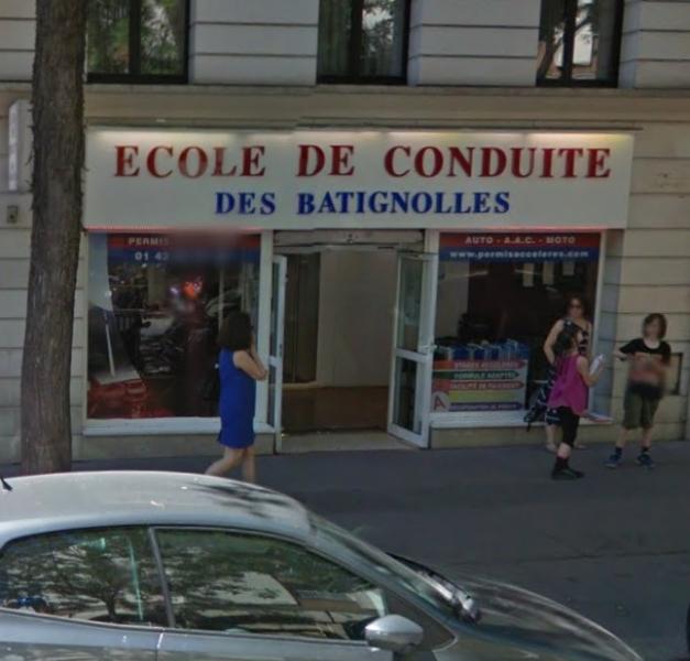 ecole de conduite des batignolles trouver une auto cole dans le 75 paris. Black Bedroom Furniture Sets. Home Design Ideas