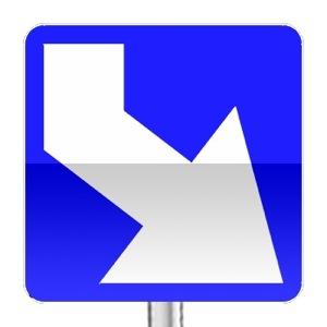 panneaux de signalisation routi re sur passe ton code balises j5. Black Bedroom Furniture Sets. Home Design Ideas