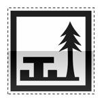 Idéogramme indiquant un emplacement pour clinique