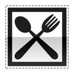 Idéogramme annonçant un restaurant ouvert 7/7j