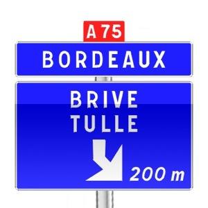panneaux de signalisation panneaux de direction da41f code de la route gratuit sur. Black Bedroom Furniture Sets. Home Design Ideas