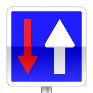 signalisation routi re panneaux d 39 indication c18 r visez le code de la route sur. Black Bedroom Furniture Sets. Home Design Ideas