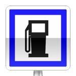Poste de distribution de carburant ouvert 7 jours sur 7 et 24 heures sur 24