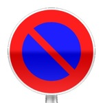 Panneau d'interdiction de stationner
