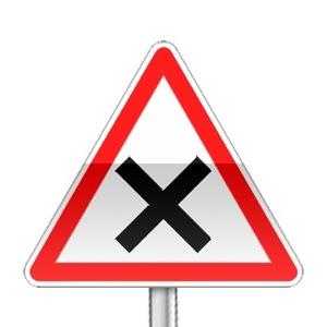signalisation routi re panneaux de priorit ab1 r visez le code de la route sur. Black Bedroom Furniture Sets. Home Design Ideas