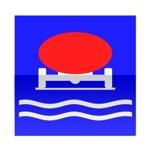 Symbole de direction conseillée aux véhicules transportant des marchandises susceptibles de polluer les eaux
