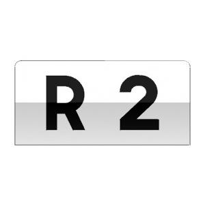 Cartouche utilisé pour caractériser le réseau routier rural