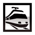 Idéogramme indiquant une gare ferroviaire