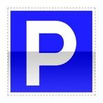 Idéogramme indiquant un parc de stationnement