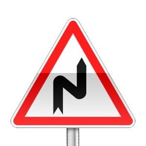 panneaux de signalisation panneaux de danger a1c code de la route gratuit sur. Black Bedroom Furniture Sets. Home Design Ideas