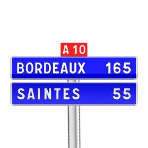 panneaux de direction d61b tous les panneaux de signalisation sur passe ton code. Black Bedroom Furniture Sets. Home Design Ideas