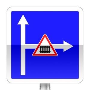 signalisation routi re panneaux d 39 indication c24c r visez le code de la route sur. Black Bedroom Furniture Sets. Home Design Ideas