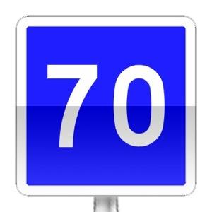panneaux de signalisation routi re sur passe ton code panneaux d 39 indication c4a. Black Bedroom Furniture Sets. Home Design Ideas