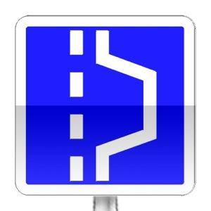 panneaux d 39 indication c8 tous les panneaux de signalisation sur passe ton code. Black Bedroom Furniture Sets. Home Design Ideas