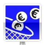Panneau d'indication de paiement automatique par pièces de monnaie