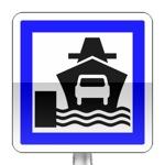 Panneau d'indication d'embarcadère