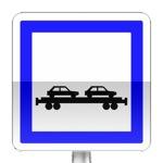 Panneau d'indication de gare auto / train