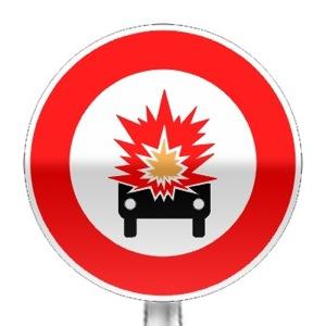 signalisation routi re panneaux d 39 interdiction b18a r visez le code de la route sur. Black Bedroom Furniture Sets. Home Design Ideas