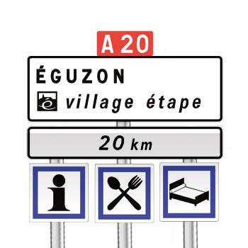 panneaux de signalisation panneaux de localisation 18 code de la route gratuit sur. Black Bedroom Furniture Sets. Home Design Ideas