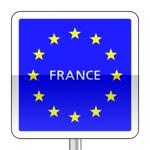 Panneaux de localisation d'un état appartenant à la communauté économique européenne