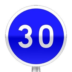 panneaux d 39 obligation b25 tous les panneaux de signalisation sur passe ton code. Black Bedroom Furniture Sets. Home Design Ideas
