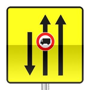 panneaux de signalisation panneaux de travaux kd9 code de la route gratuit sur. Black Bedroom Furniture Sets. Home Design Ideas