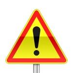Panneau signalisation temporaire, autres dangers