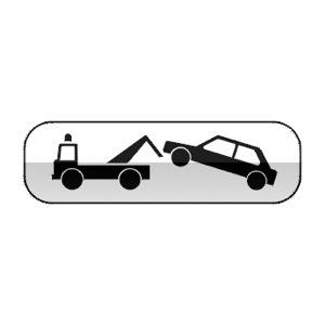 Panonceau indiquant que le stationnement et/ou l'arrêt est gênant au sens de l'article R.417-10 du code de la route