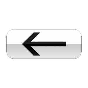 Panonceau d'application des prescriptions concernant le stationnement et l'arrêt