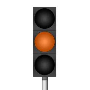 Cours code de la route les feux tricolores - Feu orange clignotant ...